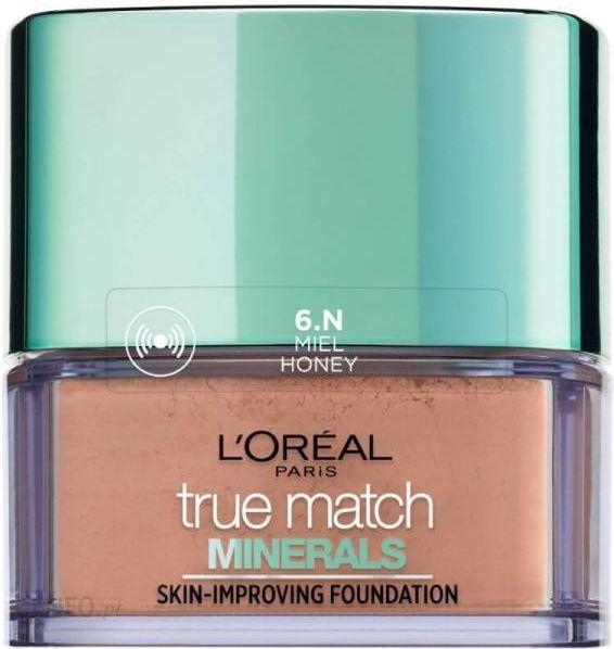 """L'Oreal True Match Minerals Powder N6"" medaus mineralinis milteliai 10G"