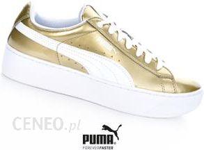 Puma Vikky Platform 363609 01 złote 38,5