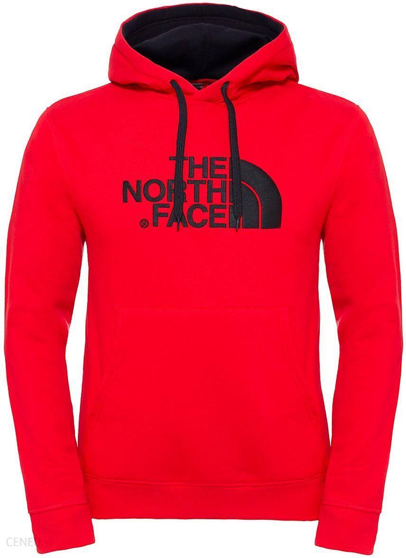 bluza męska the north face raglan red box hoodie t92zwuns6-m