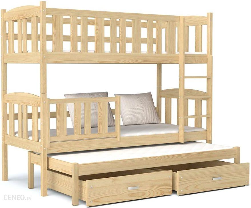 łóżko Piętrowe Kubuś 3 Osobowe Dla Dzieci