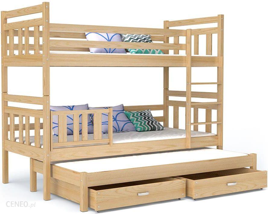 łóżko Piętrowe Nemo 3 Osobowe Dla Trójki Dzieci Ceny I Opinie Ceneopl