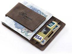 Amazon naturalny sk rzany portfel etui na karty etui na - Rito porta soldi ...