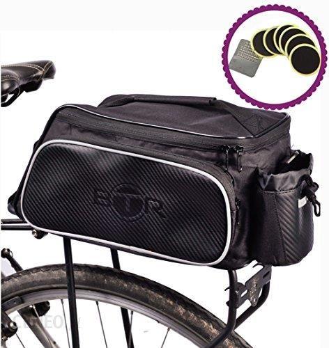 cddbea2b2a0677 Amazon Wodoodporna torba na ramę BTR-torba na bagażnik, torba na rower lub,