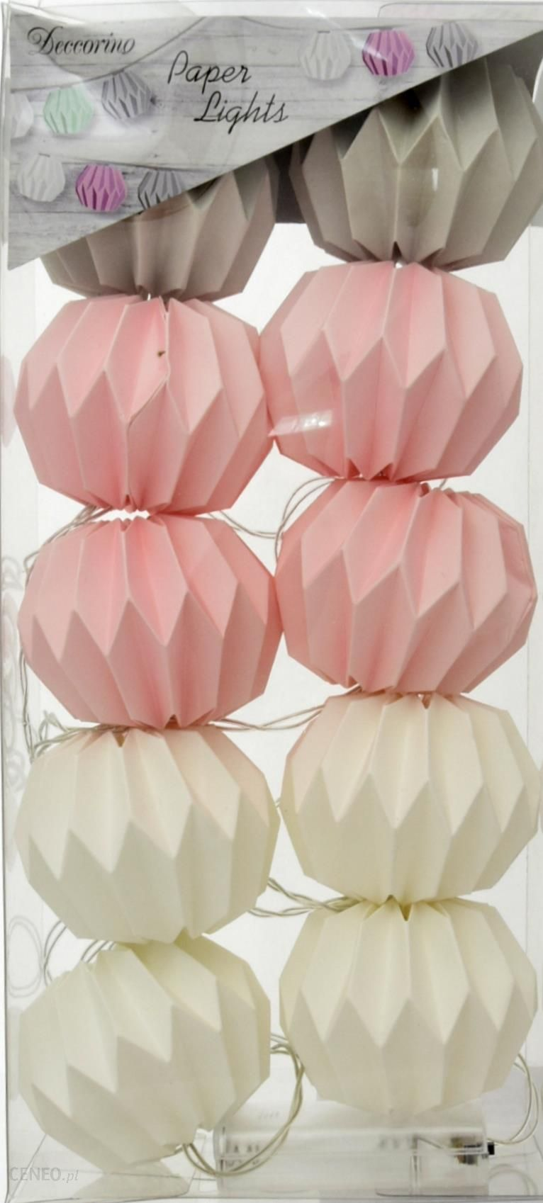 świecące Kule Dekoracyjne Lampki Paper Cotton Ball Opinie I Atrakcyjne Ceny Na Ceneopl