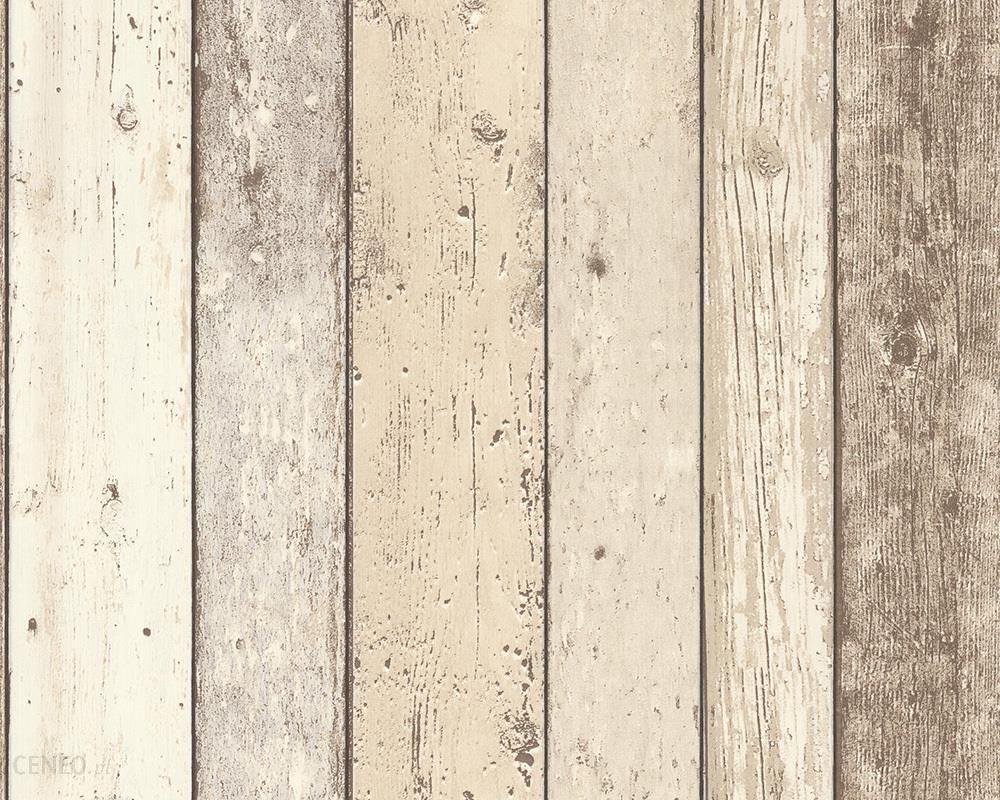 Tapety jak deski tapeta stare drewno vintage pasy for Retro tapete turkis