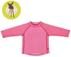 c4055e2526c786 Koszulka do pływania z długim rękawem Light pink, UV 50+ Lassig