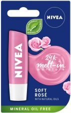 Nivea Lip Care Pomadka Ochronna Soft Rose 4,8g