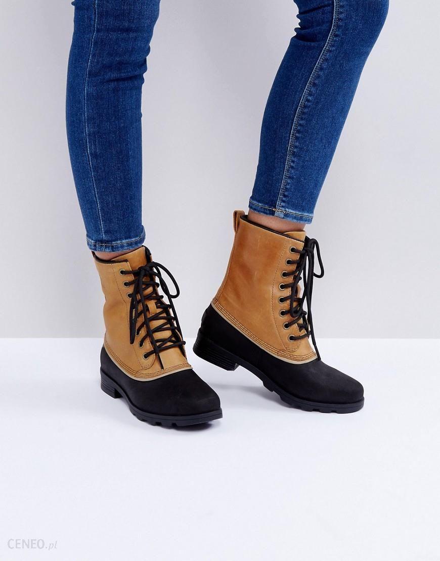 Sorel Emelie 1964 Elk Beige Waterproof Leather Boots Beige Ceneo.pl