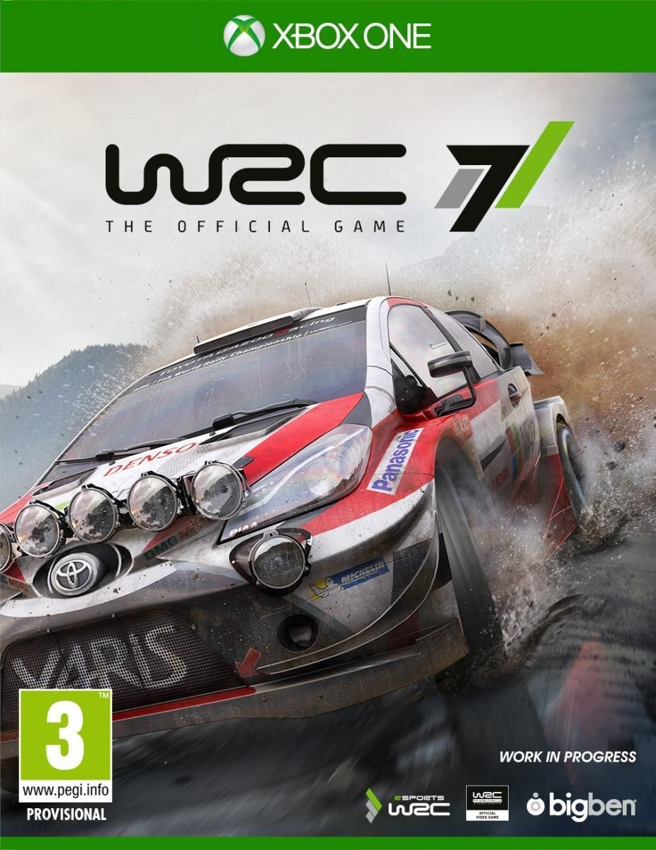 gra na xbox one wrc 7 fia world rally championship xbox. Black Bedroom Furniture Sets. Home Design Ideas