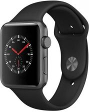 Apple Watch 3 38mm Gwiezdna szarość/Czarny (MQKV2MPA)