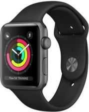 Apple Watch 3 42mm Gwiezdna Szarość/Czarny (MQL12MPA)