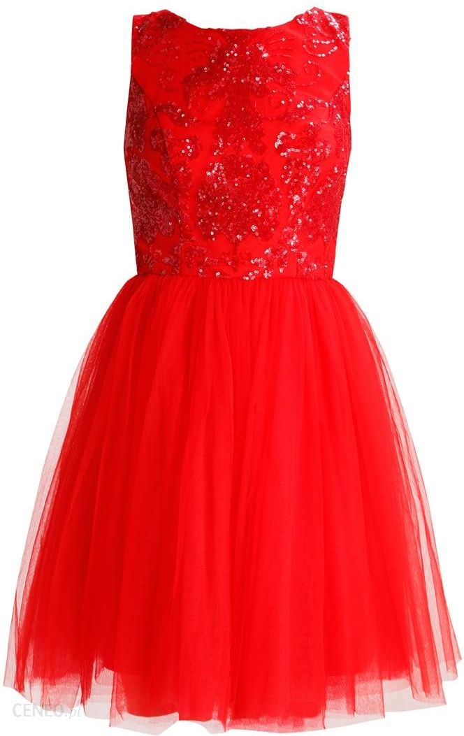 e0755cf8ac Chi Chi London Petite NELE Sukienka koktajlowa red - Ceny i opinie ...
