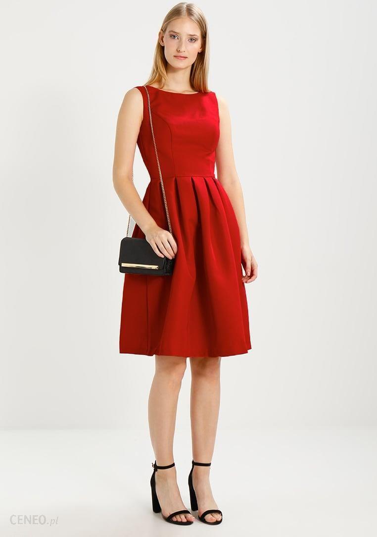 72a6b68927 Chi Chi London NOE Sukienka koktajlowa red - Ceny i opinie - Ceneo.pl