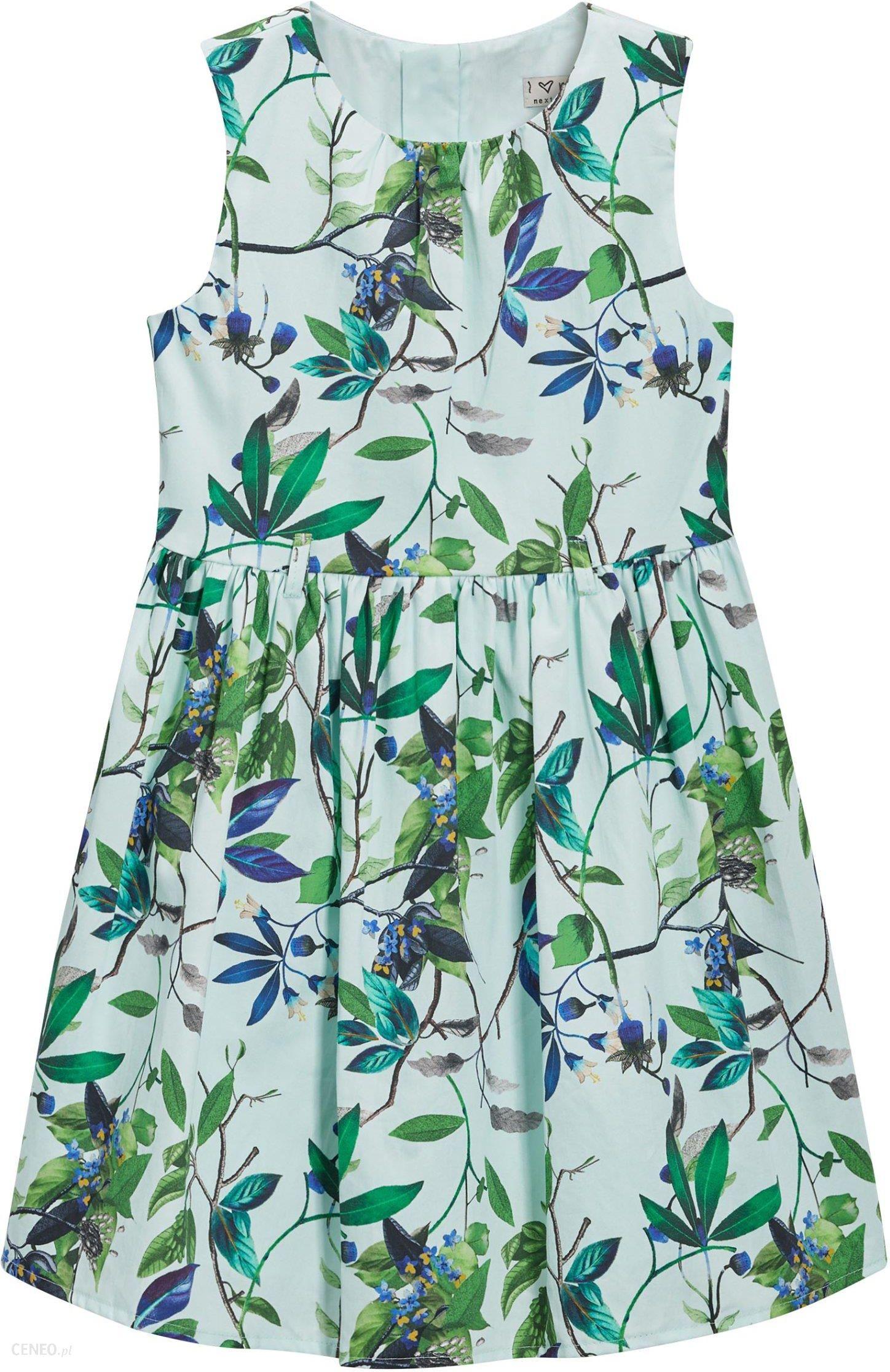 ce3b03e6 next Sukienka w kwiaty Dziewczynki 158 cm