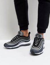 Nike Air Max 97 Ultra  17 Trainers In Black 918356-001 - Black ... bc76ddef9b7