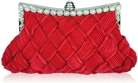 7caa05fc17c0d Zachwycająca czerwona torebka wizytowa z koralików - czerwony - Ceny ...