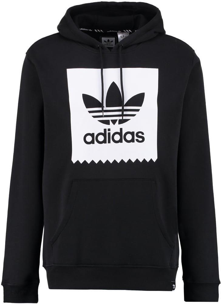 adidas Originals LOGO HOOD Bluza z kapturem blackwhite