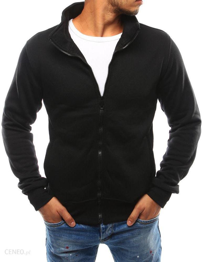 bluza męska rozpinana bez kaptura