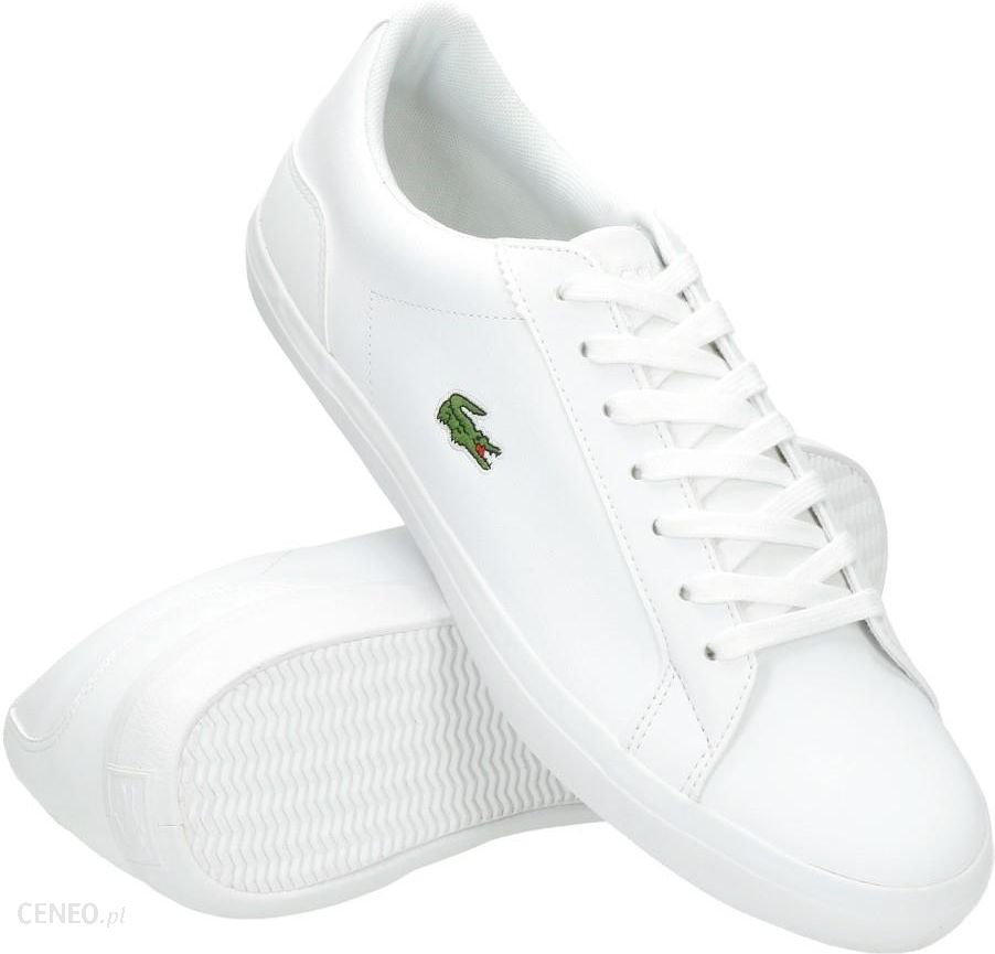 c32615dcaa99a Buty Lacoste Lerond BL 1 CAM White 733CAM1032001 - Ceny i opinie ...