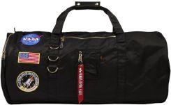 Alpha Industries FLIGHT DUFFEL BAG NASA Torba podróżna black