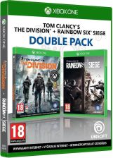 Double Pack: Tom Clancys The Division + Tom Clancy\s Rainbow Six: Siege (Xbox One)
