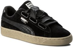 uk availability bdb31 260a5 Sneakersy PUMA - Suede Heart Safari Wn's 364083 03 Puma Black/Puma Black