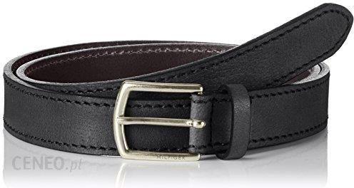 d1bebfb36691b Amazon Tommy Hilfiger męski pasek, kolor: czarny, rozmiar: 90 cm - zdjęcie