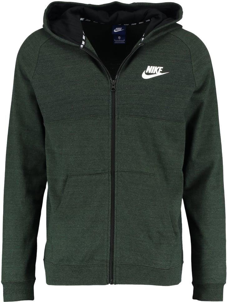 c50b36472 Nike Sportswear Bluza rozpinana outdoor green/black/white - Ceny i ...