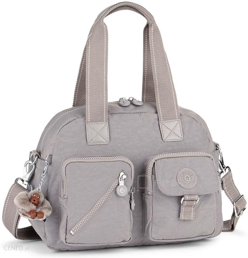 f0c43bcc2 Kipling DEFEA torba damska na ramię - Urban Grey - Ceny i opinie ...