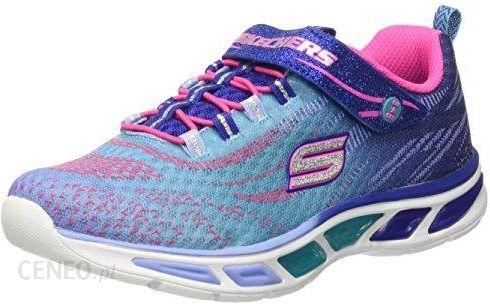 0f7589d8745bb Amazon Buty sportowe Skechers Litebeams dla dziewczynek, kolor: niebieski,  rozmiar: 35 EU