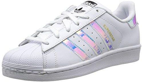 nowy koncept wyprzedaż resztek magazynowych wiele modnych Amazon Adidas unisex dziecięce Superstar Sneaker - biały - 36 2/3 EU