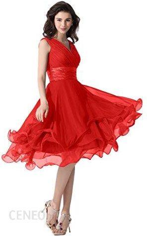 c2ffb7ec47 Amazon Victory Bridal wystarczy głęboki dekolt w kształcie litery V. suknie  wieczorowe ball sukienki druhny
