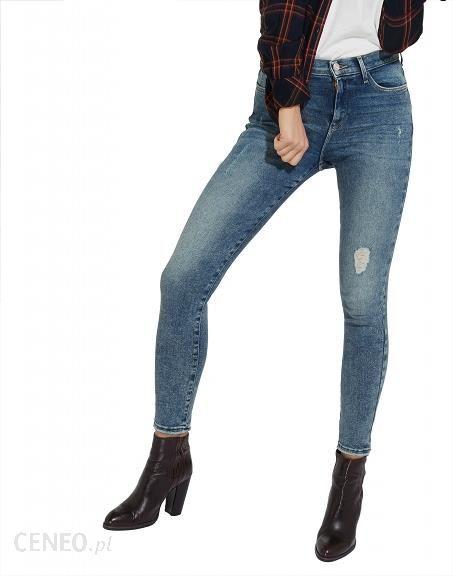 3d7b6e014fd3b Spodnie Wrangler High Skinny W27HCZ99C W28 L32 - Ceny i opinie ...
