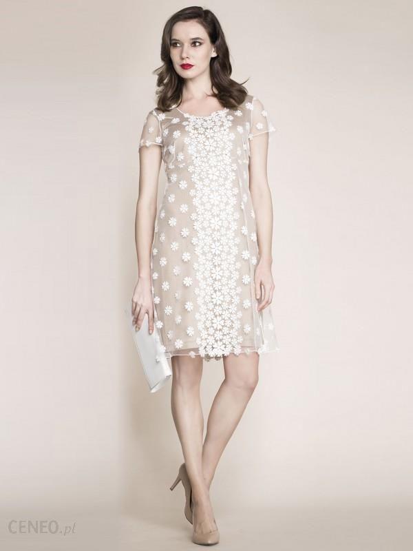 Oryginał Sukienka z kryształkami Swarovski Potis & Verso EVANDA - Ceny i JZ02