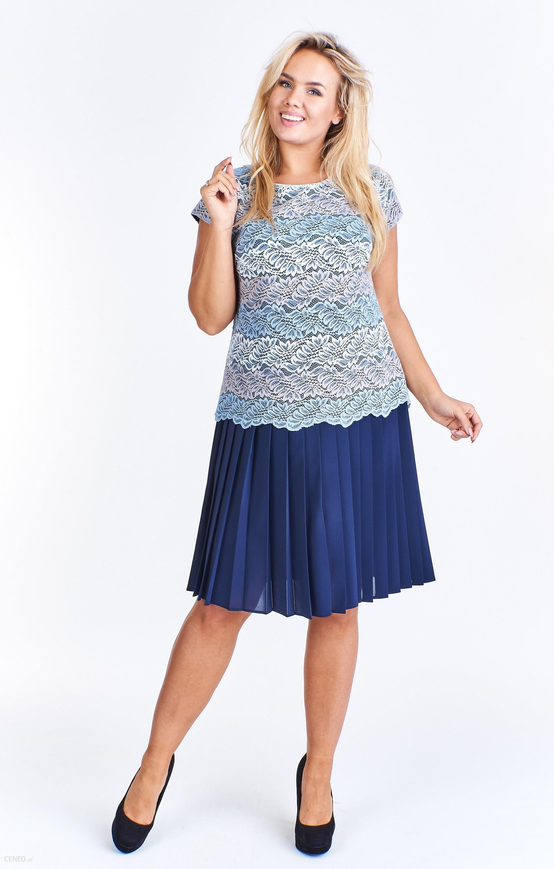 6dd9922d35 PtakModa - Wizytowa sukienka z plisowanym dołem IDEM - Ceny i opinie ...