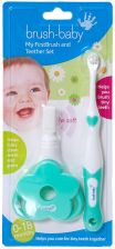 Brush Baby My First Toothbrush and Teether Set - zdjęcie 1