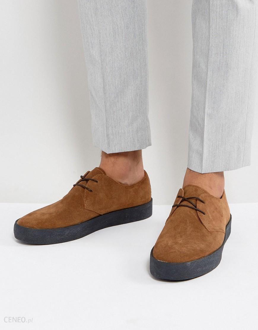Vagabond Luis Suede Crepe Effect Sole Shoes Tan