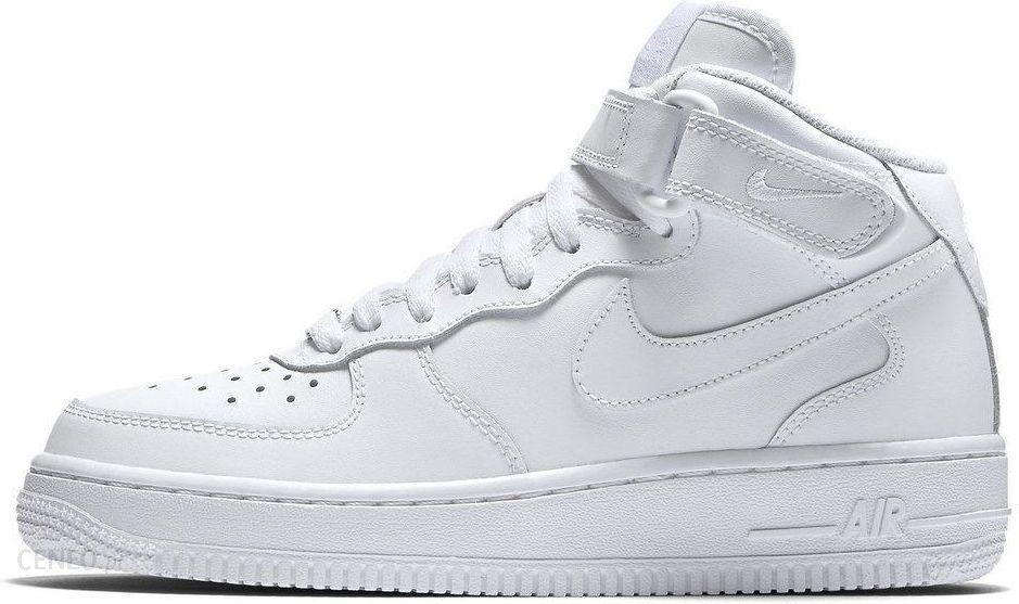 Buty Damskie Nike Air Force 1 Mid (gs) 314195 113 Ceny i opinie Ceneo.pl