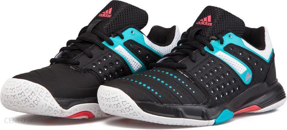 93a996c3 Adidas Buty halowe damskie Court Stabil czarno-niebieskie r. 38 (AF4883) -
