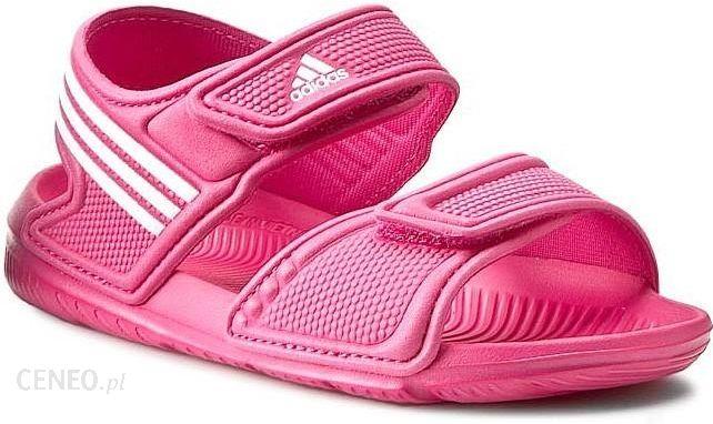 8cbcd2b605a50 Sandały dziecięce Adidas AKWAH 9 K (AF3871) - różowy - Ceny i opinie ...