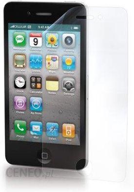 Amazon Cellular Line spiphone4 folia ochronna wyświetlacza w zest.  ściereczka do czyszczenia do Apple iPhone fb1fe27258f