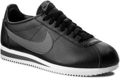 4d31df88765d91 Buty NIKE - Classic Cortez Leather 749571 011 Black/Dark Grey/White -  zdjęcie