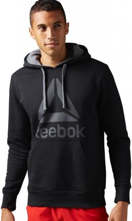 90d49825 Bluza Reebok Workout Ready Big Logo Cotton Poly - BK4158