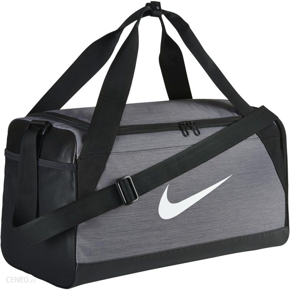 bf821ca98c8da Nike Brasilia (Small) Training Duffel Bag Grey - Ceny i opinie ...