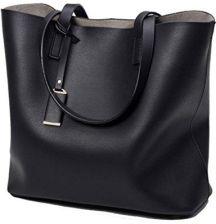 74fdb850c0179 Amazon Worek duża pojemność torebki na ramię z Yan Show damski PU ...
