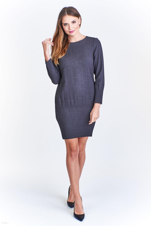 6137a85125 PtakModa - Sukienka z długim rękawem KMX FASHION - Ceny i opinie ...