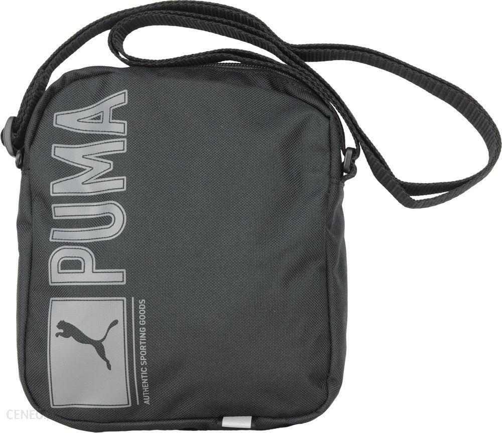 65e355cb072f3 Puma TORBA-ORGANIZER PIONEER 07347201 czarna, szare logo - (75343) - zdjęcie