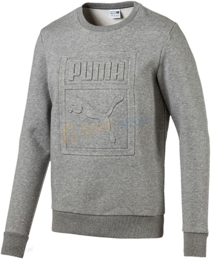 eac3964bc Bluza męska Archive Embossed Logo Crew Puma (szara) - Ceny i opinie ...