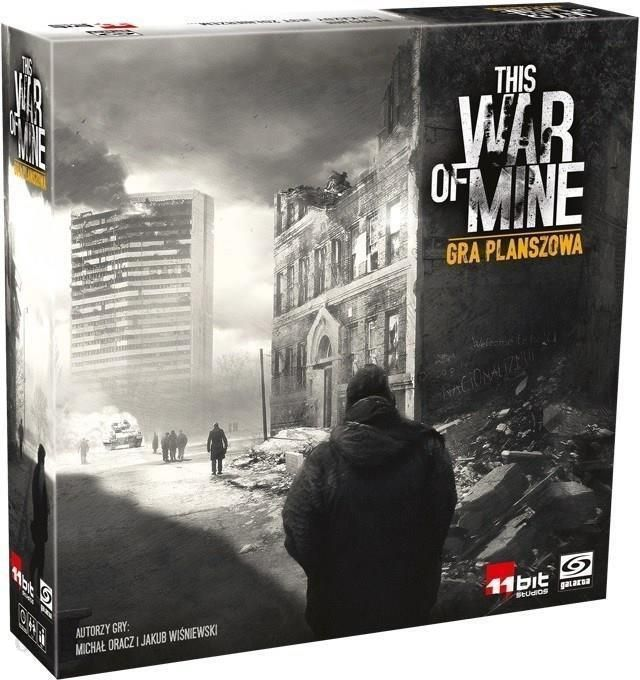 Gra planszowa Galakta This War of Mine