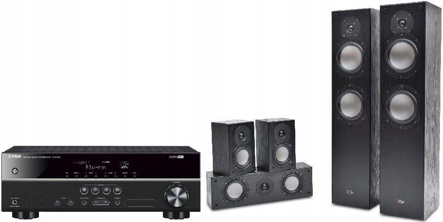 Yamaha HTR-2071 czarny + Prism Audio Vienna czarny